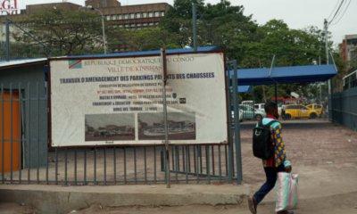 KINSHASA : Gombe dotée d'un premier parking public payant de 42 véhicules 18
