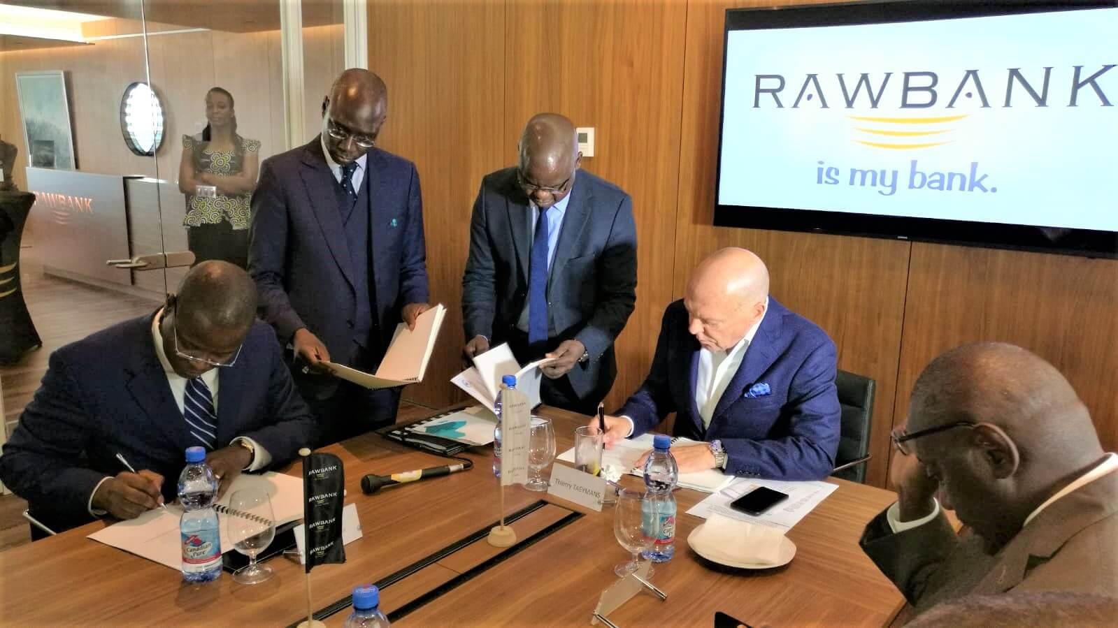 RDC: Rawbank signe un contrat avec Trade and Development Bank 1
