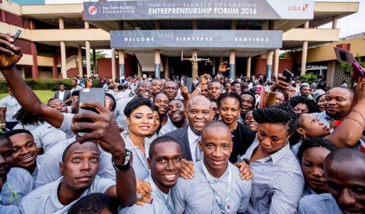Afrique :Fondation Tony Elumelu, le4èmeforum de l'entrepreneuriat se tiendra le 25 octobre 2018 à Lagos 1