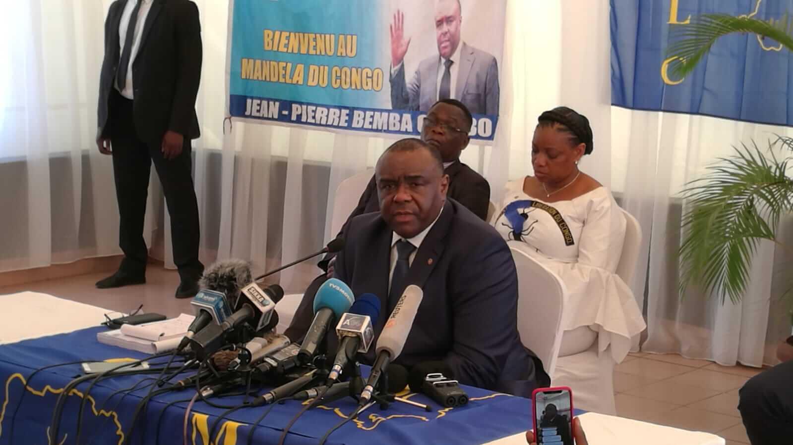 RDC : la position de Bemba sur son budget de campagne électorale 1