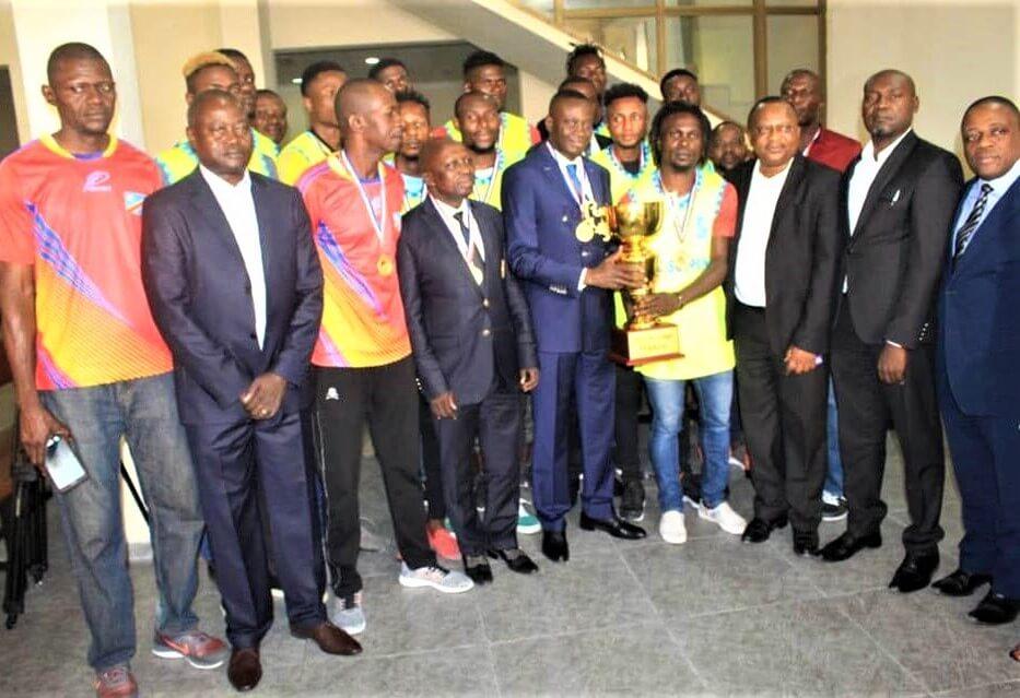 RDC : la SCTP honorée par son équipe de Basketball masculin 1