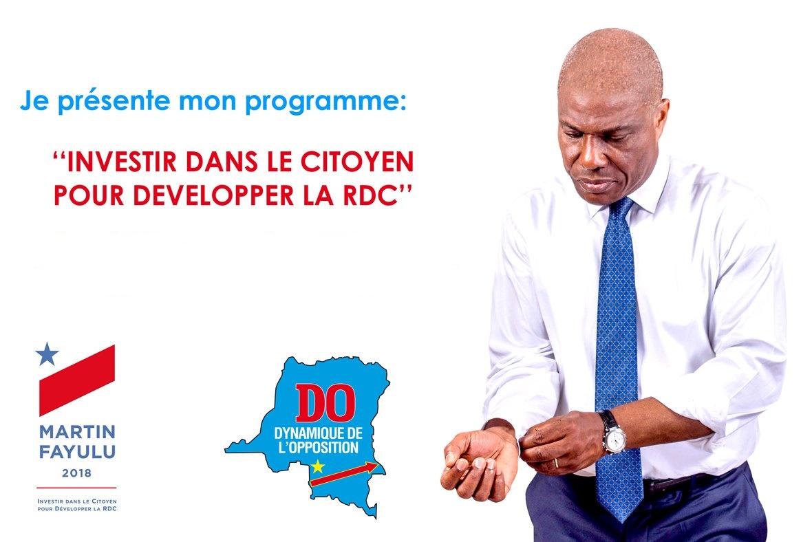 RDC : Martin Fayulu chiffre son programme quinquennal à 190 milliards USD 1