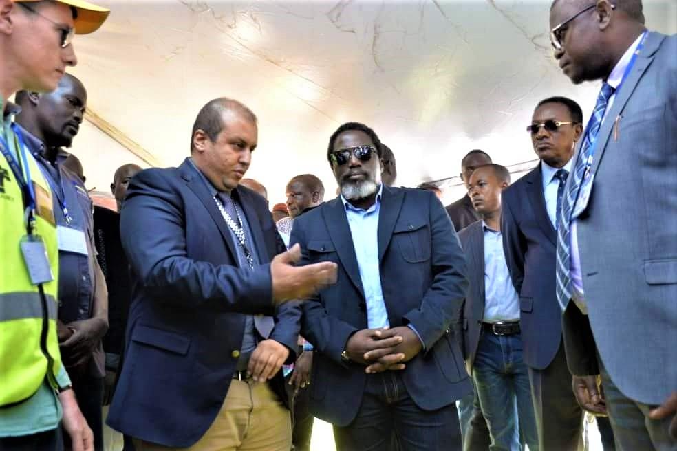 RDC : le Groupe Forrest honoré par la visite du chef de l'Etat à Kolwezi 1