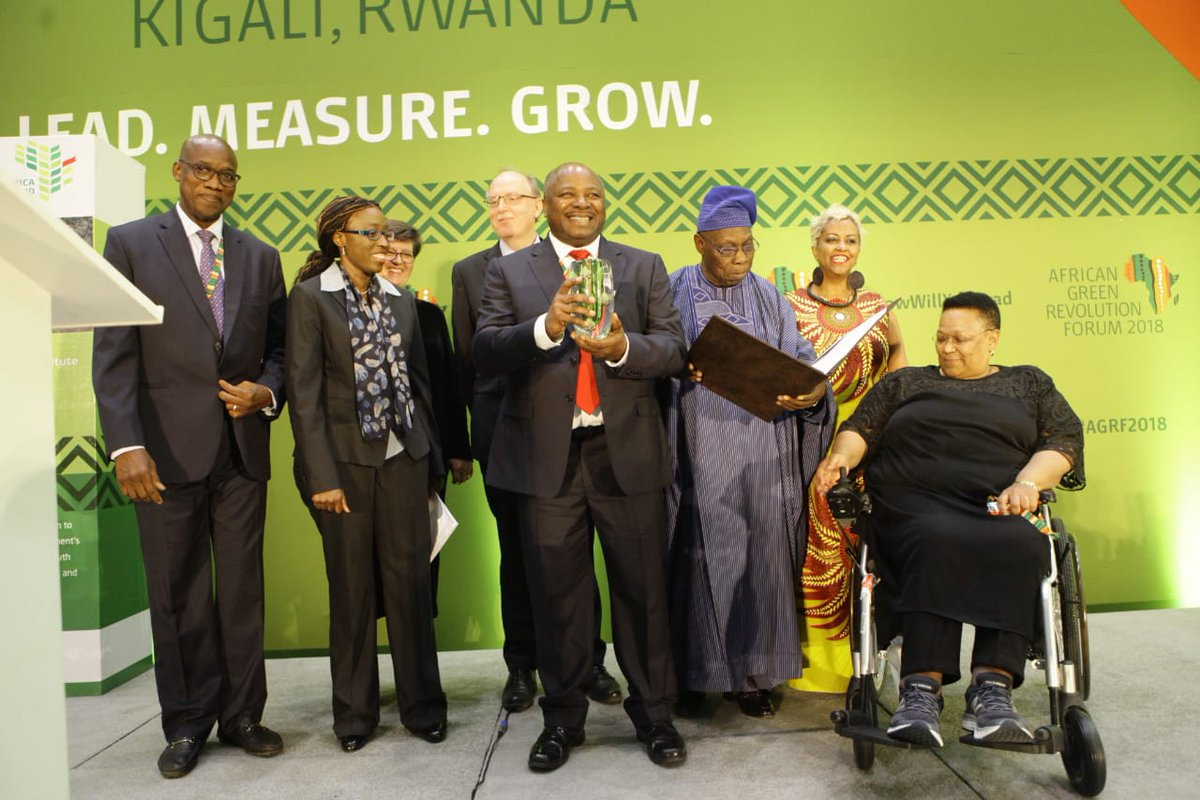 AGRF 2018 : IITA, première institution à gagner l'Africa Food Prize 1