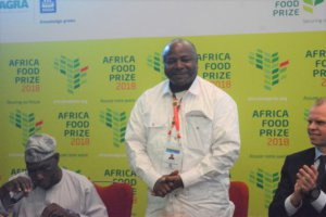 AGRF 2018 : IITA, première institution à gagner l'Africa Food Prize 2