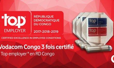 RDC : Vodacom troisième fois primée «Top Employer» 8