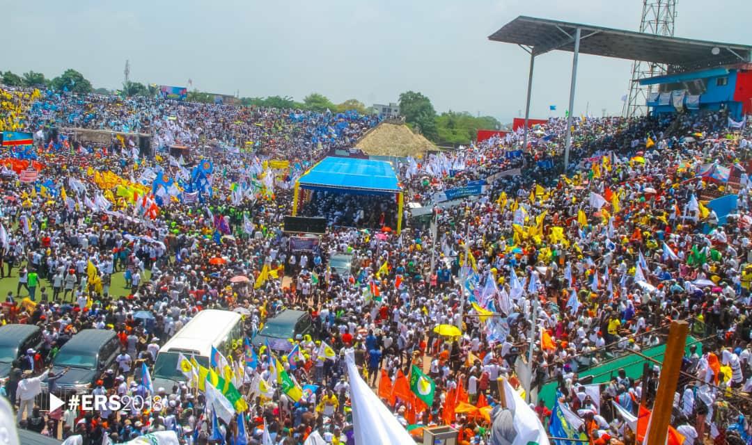 RDC : qui a financé le meeting du FCC au stade Tata Raphaël ? 1
