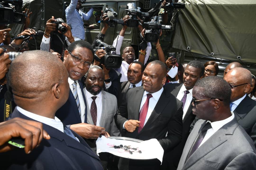 RDC : remise officielle de matériels roulants et volants à la CENI ! 1