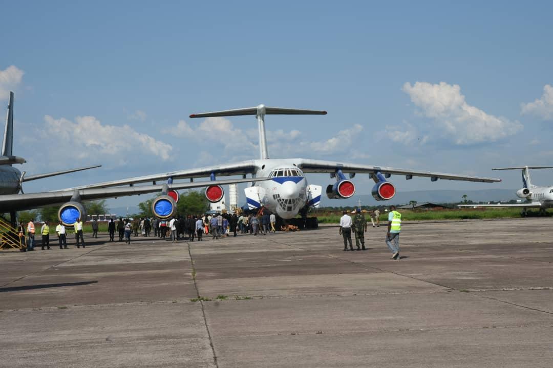 RDC : remise officielle de matériels roulants et volants à la CENI ! 3