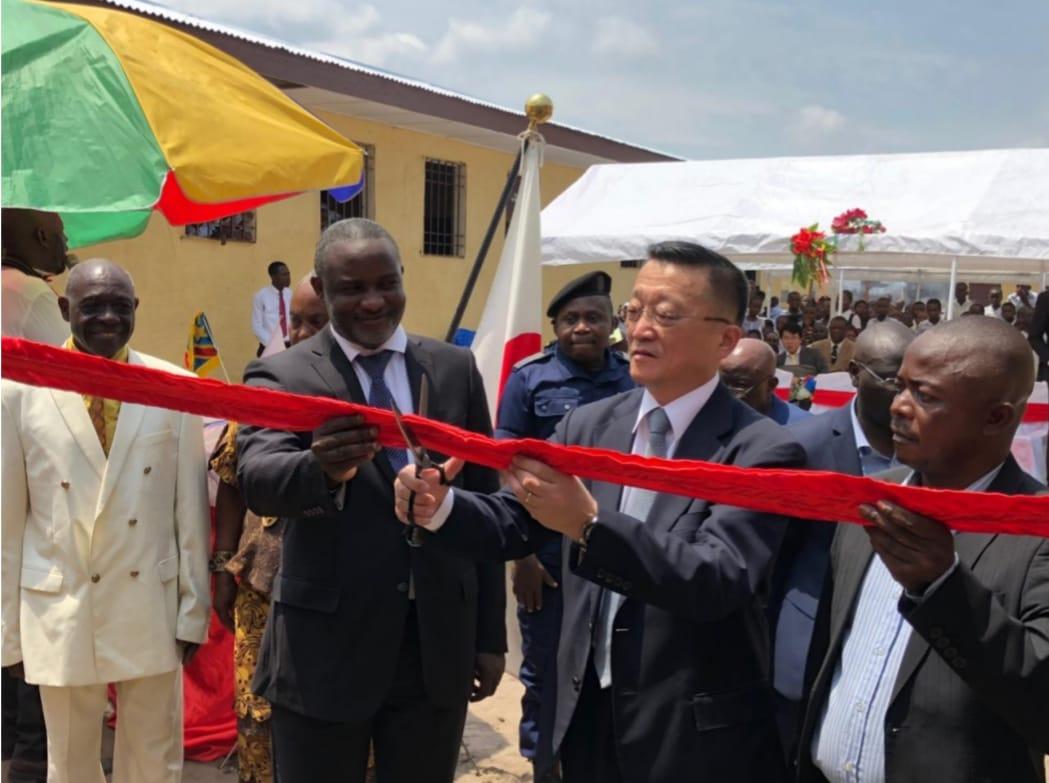 Kinshasa : une école double sa capacité d'accueil grâce à un don du Japon 1