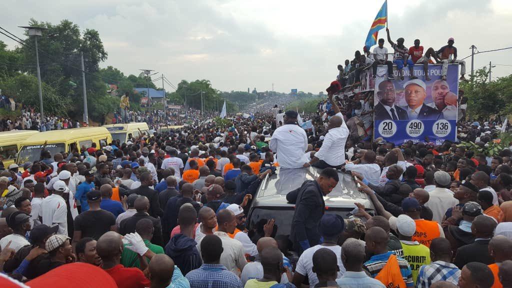 RDC: des kinois offrent un accueil triomphal à Félix Tshisekedi et Vital Kamerhe! 1