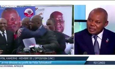 Vital Kamerhe : «nous allons gagner la présidentielle et les législatives» 3