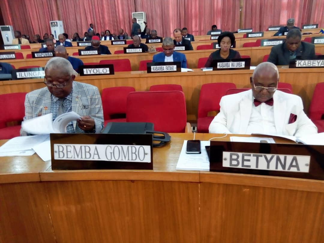 RDC : loi sur la reddition des comptes 2017 adoptée au Sénat 1
