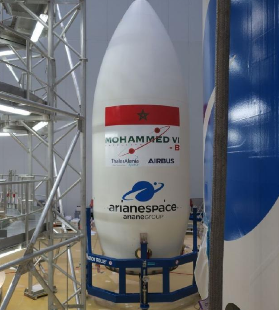 Afrique : le Maroc lance son deuxième satellite dénommé MOHAMMED VI-B 1