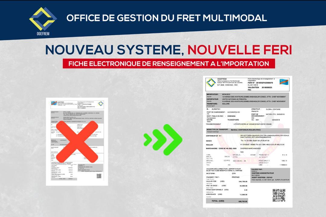 RDC : OGEFREM, la nouvelle FERI entre en vigueur ce 1er décembre 2018 ! 1