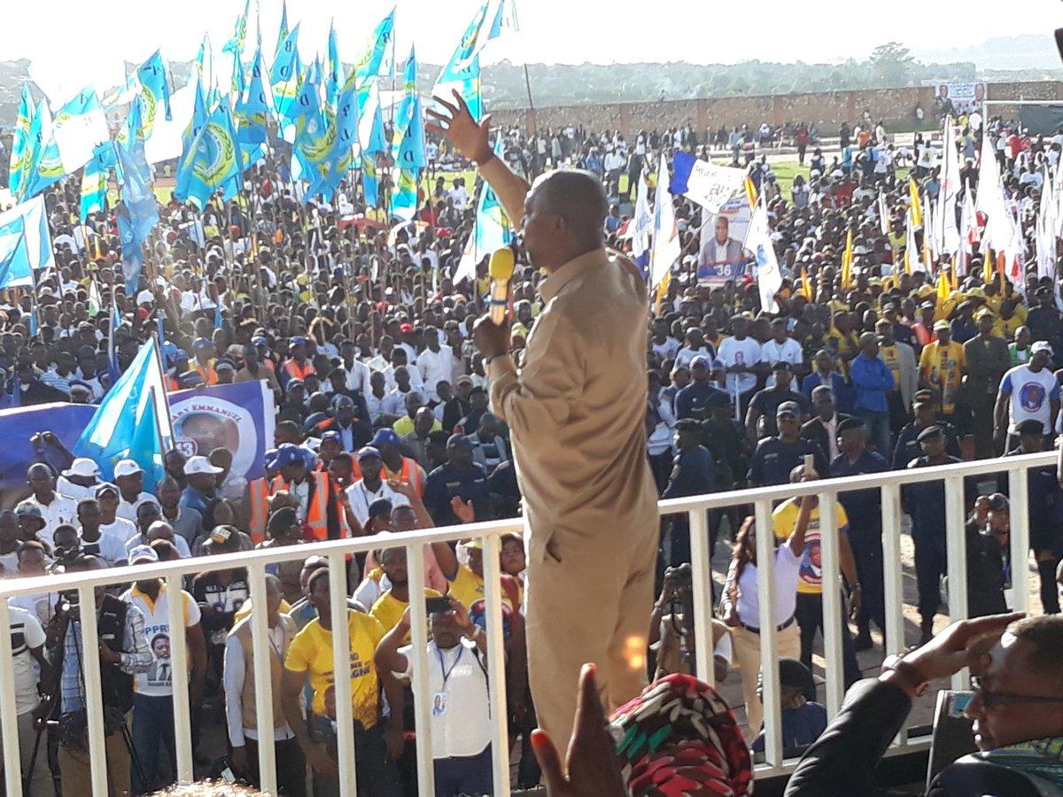 RDC: traque de kuluna en cravate, promesse électoraliste ou ferme conviction de Shadary? 1