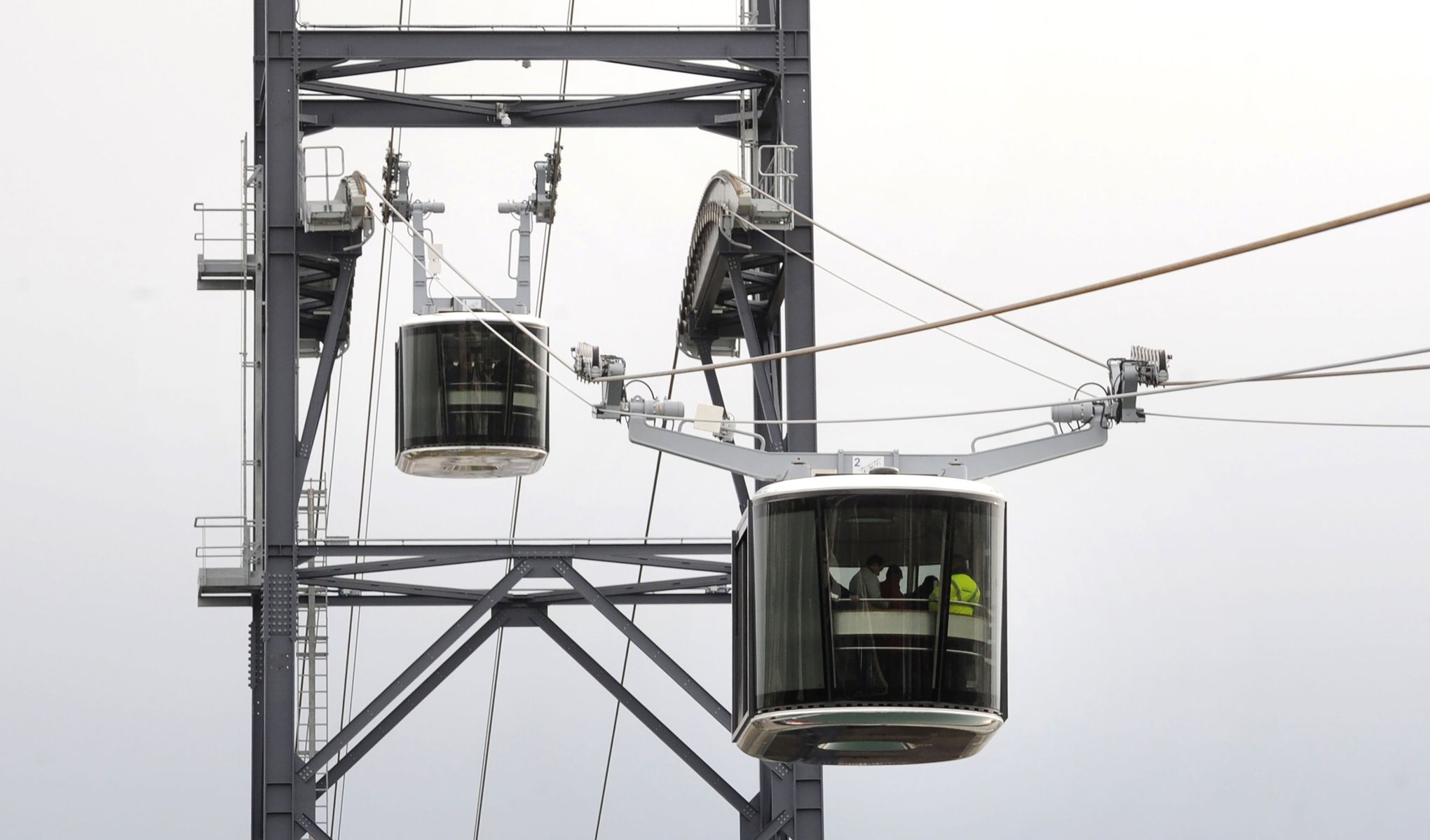 Kinshasa: 65 millions USD pour lancer deux lignes de transport par câble aérien 1