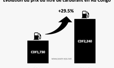 RDC : carburant, le prix du litre a augmenté de 29,5% en 2018 ! 5