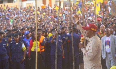 RDC : développement d'Inongo, l'une des priorités de Shadary une fois élu 2