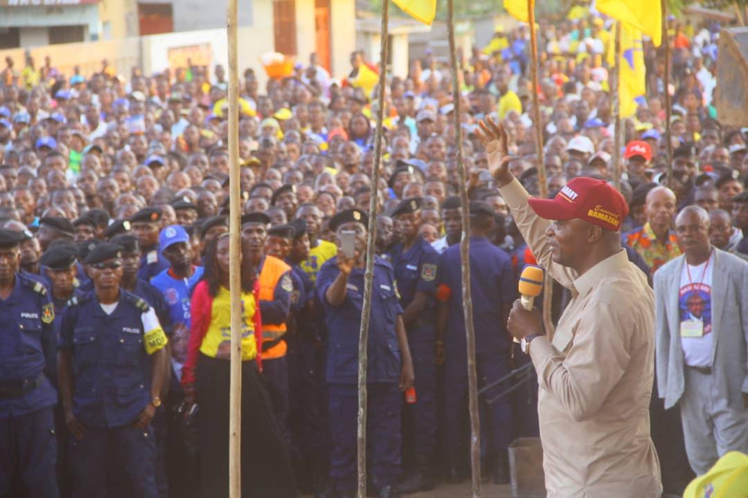 RDC : développement d'Inongo, l'une des priorités de Shadary une fois élu 1