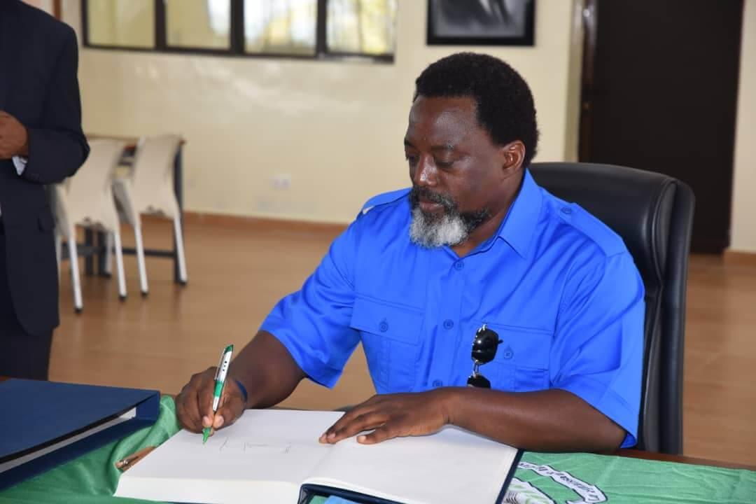 Joseph Kabila : « je vais m'occuper de mes fermes » 1