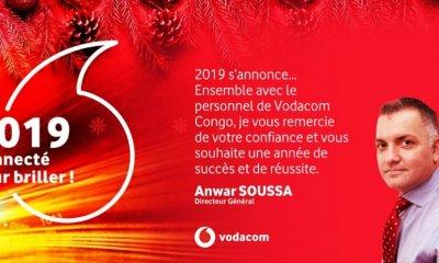 RDC : voeux de fin d'année du directeur général de Vodacom 16
