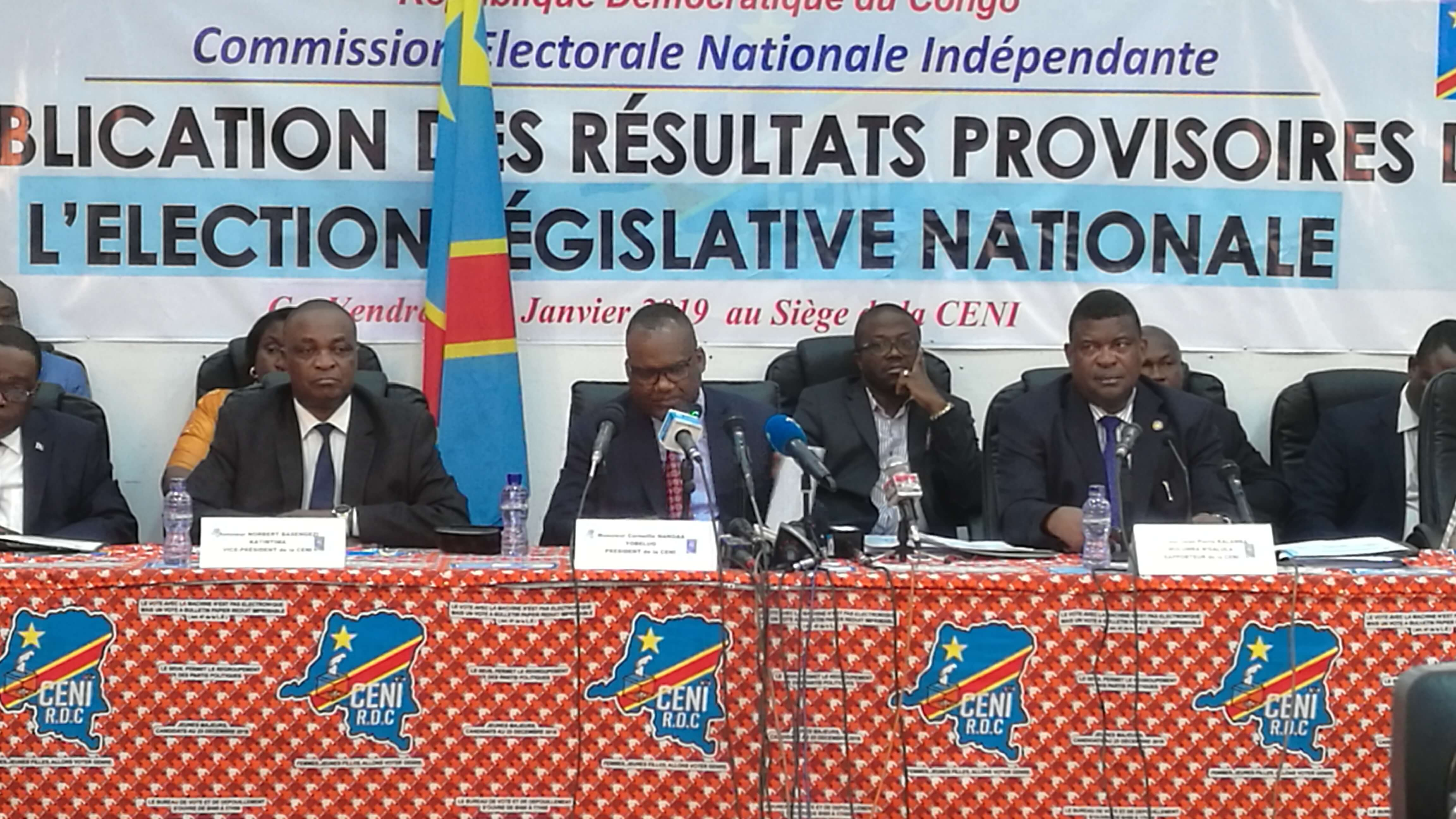 RDC : CENI dévoile les noms de dix députés élus exceptionnels ! 1