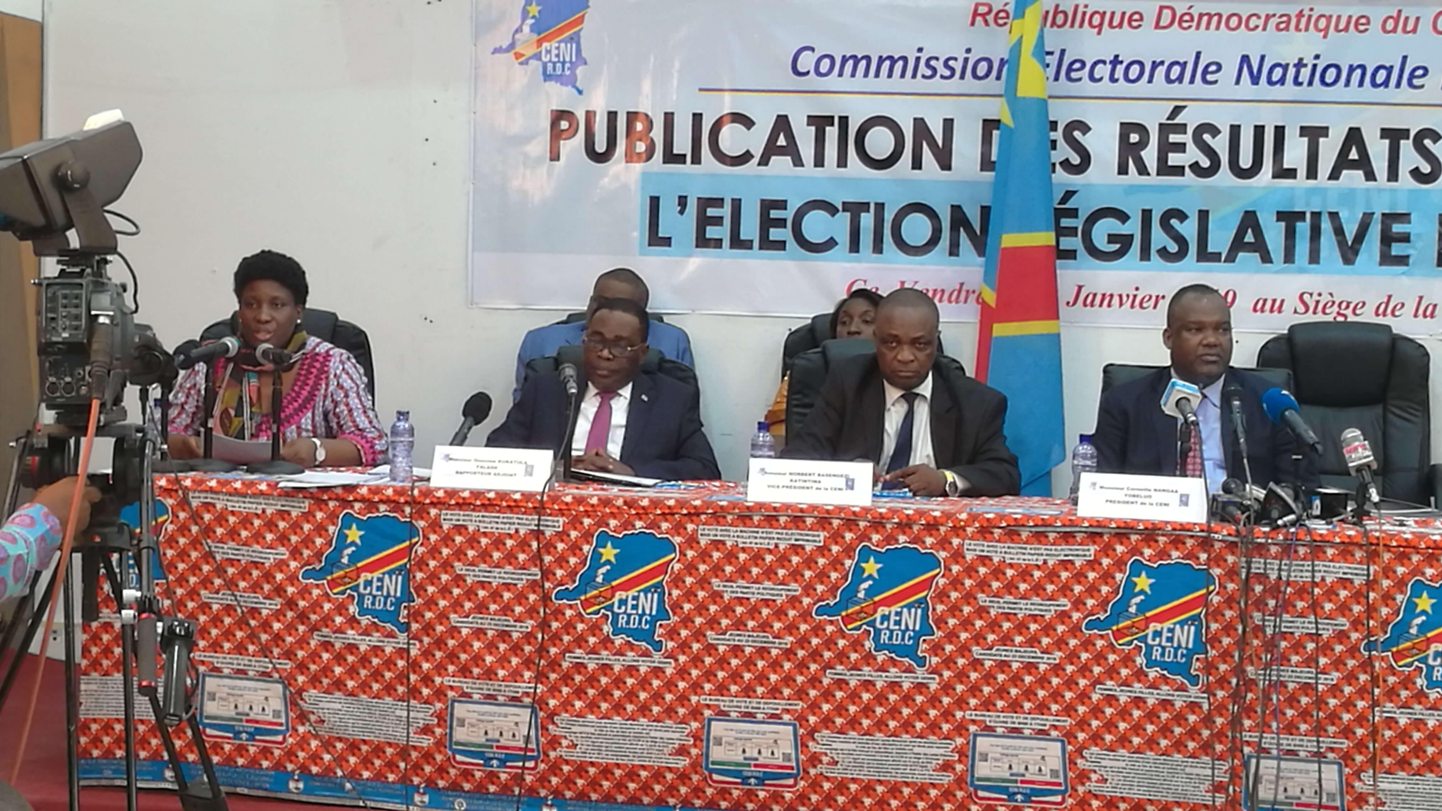 RDC : les trois députés attendus au bureau provisoire de l'Assemblée nationale 1
