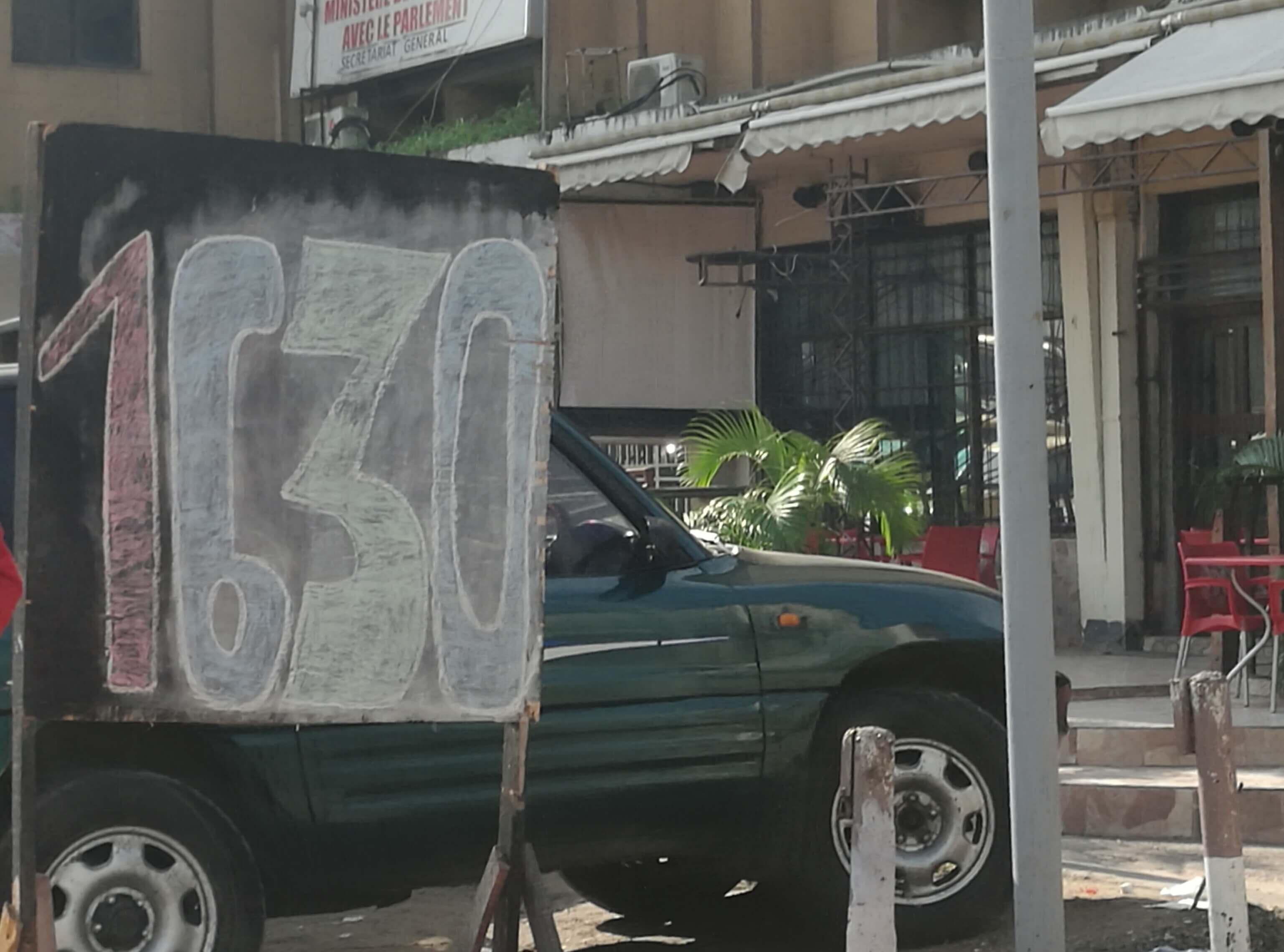 RDC: marché de change, retour au taux réel après le taux artificiel 1