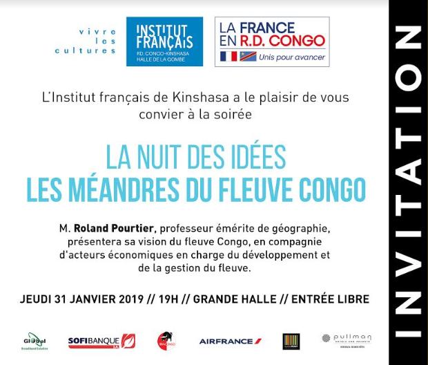 RDC : la quatrième édition de «la Nuit des idées» prévue ce 31 janvier 2019 1
