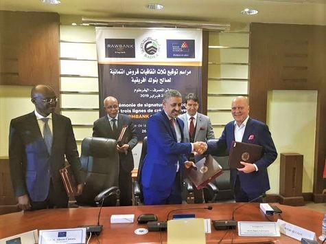 RDC: Rawbank obtient un prêt de 15 millions USD pour financer l'économie 1