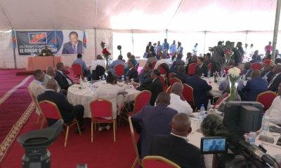 RDC : FCC, les élus de la majorité parlementaire présentés à Kabila 15