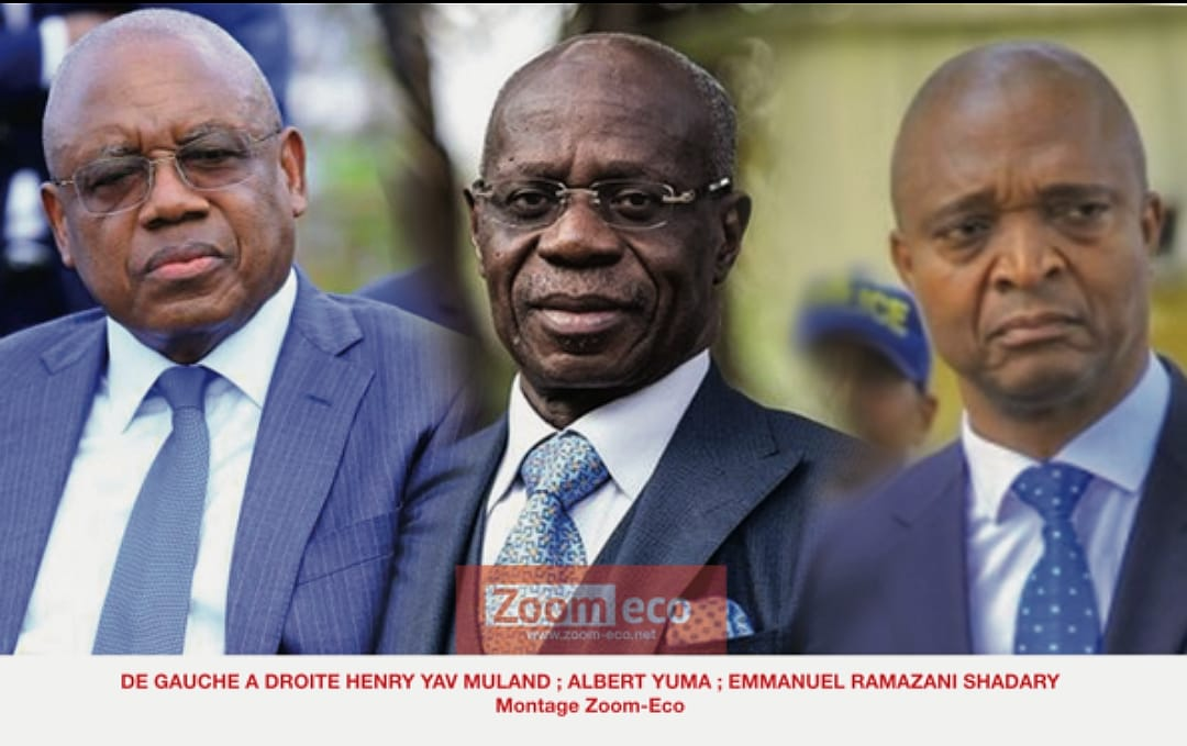 RDC : Primature, ça se joue entre Henri Yav, Albert Yuma et Emmanuel Shadary ! 1