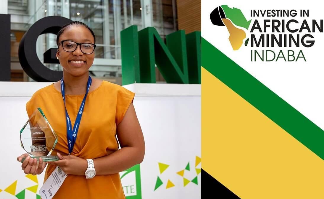 Mining Indaba: Olebogeng Sentsho vainqueur du concours « jeunes leaders du futur » 1