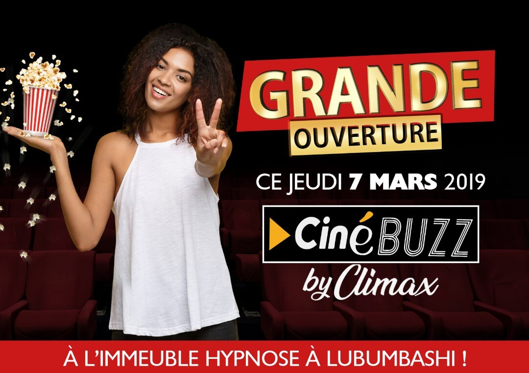 RDC : Deo Kasongo inaugure CineBuzz by Climax ce jeudi à Lubumbashi 1