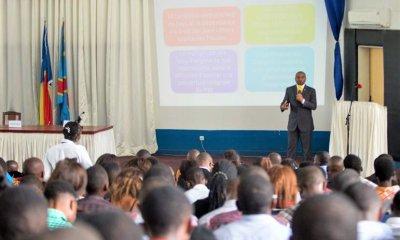 RDC: Patient Sayiba explique aux étudiants les enjeux de la gestion du fret 18