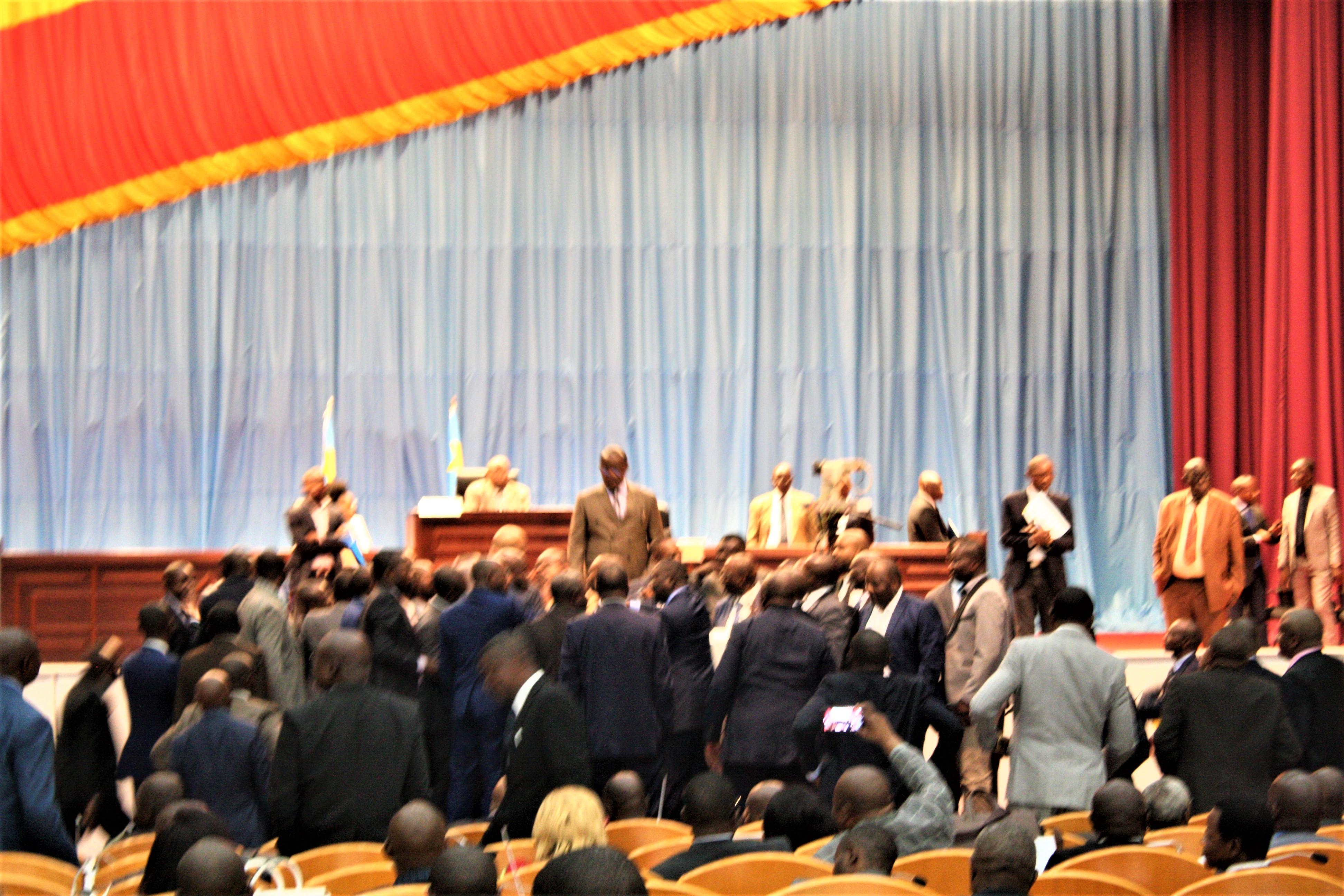 RDC: FCC-Lamuka, la raison de l'altercation lundi entre députés nationaux ! 1