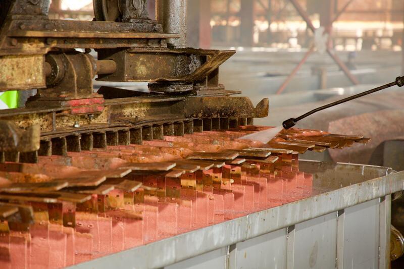 """RDC: Gécamines reprend la production du cuivre """"high grade"""" 2"""