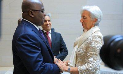Lagarde : «je suis ravie qu'on ait pu renouer la relation pour améliorer l'économie de la RDC» 1