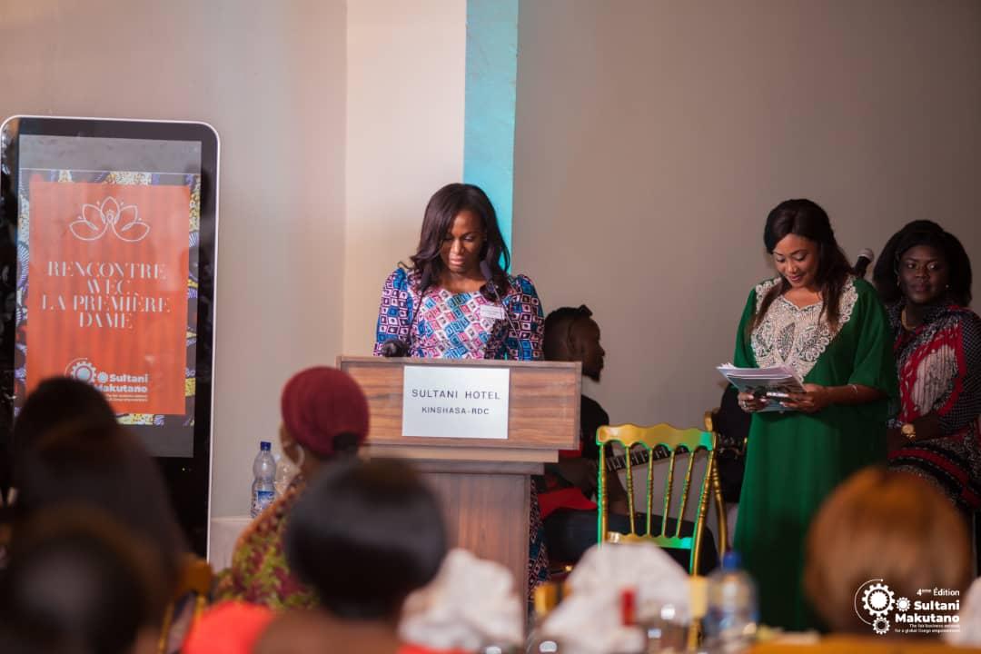 RDC : le réseau Makutano présente deux grands projets à la première dame 1
