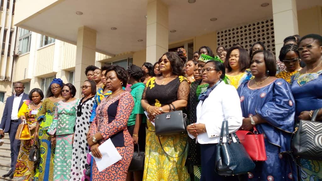 RDC : des femmes parlementaires FCC-CACH soutiennent Jeanine Mabunda 1
