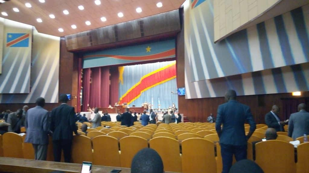 RDC : Assemblée nationale, l'opposition claque la porte 1