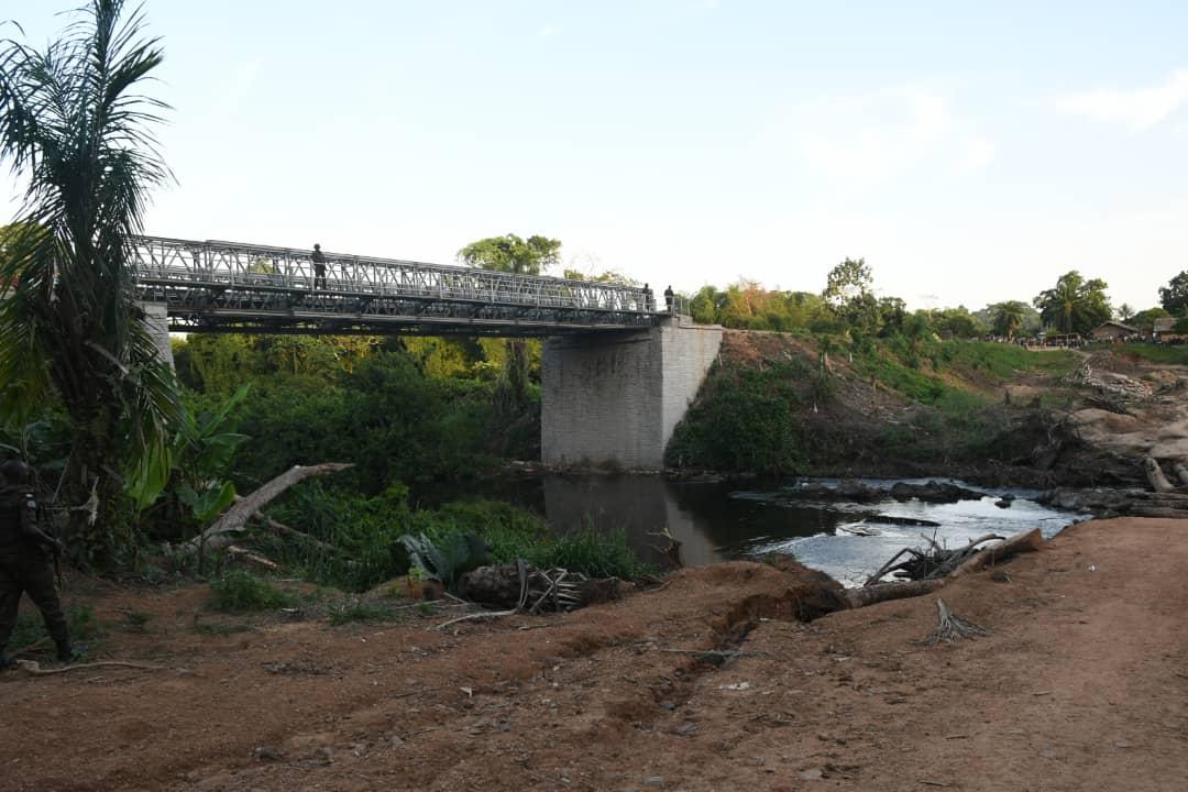 RDC : le chef de l'Etat inaugure le pont Lubuya long de 30 mètres 2