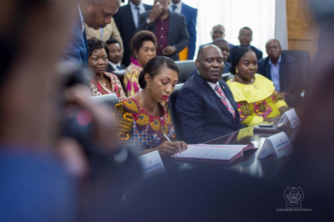 RDC : le Bureau Mabunda prend la gestion de l'Assemblée nationale 3