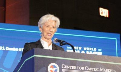 Christine Lagarde: «l'économie mondiale traverse un moment délicat» 3