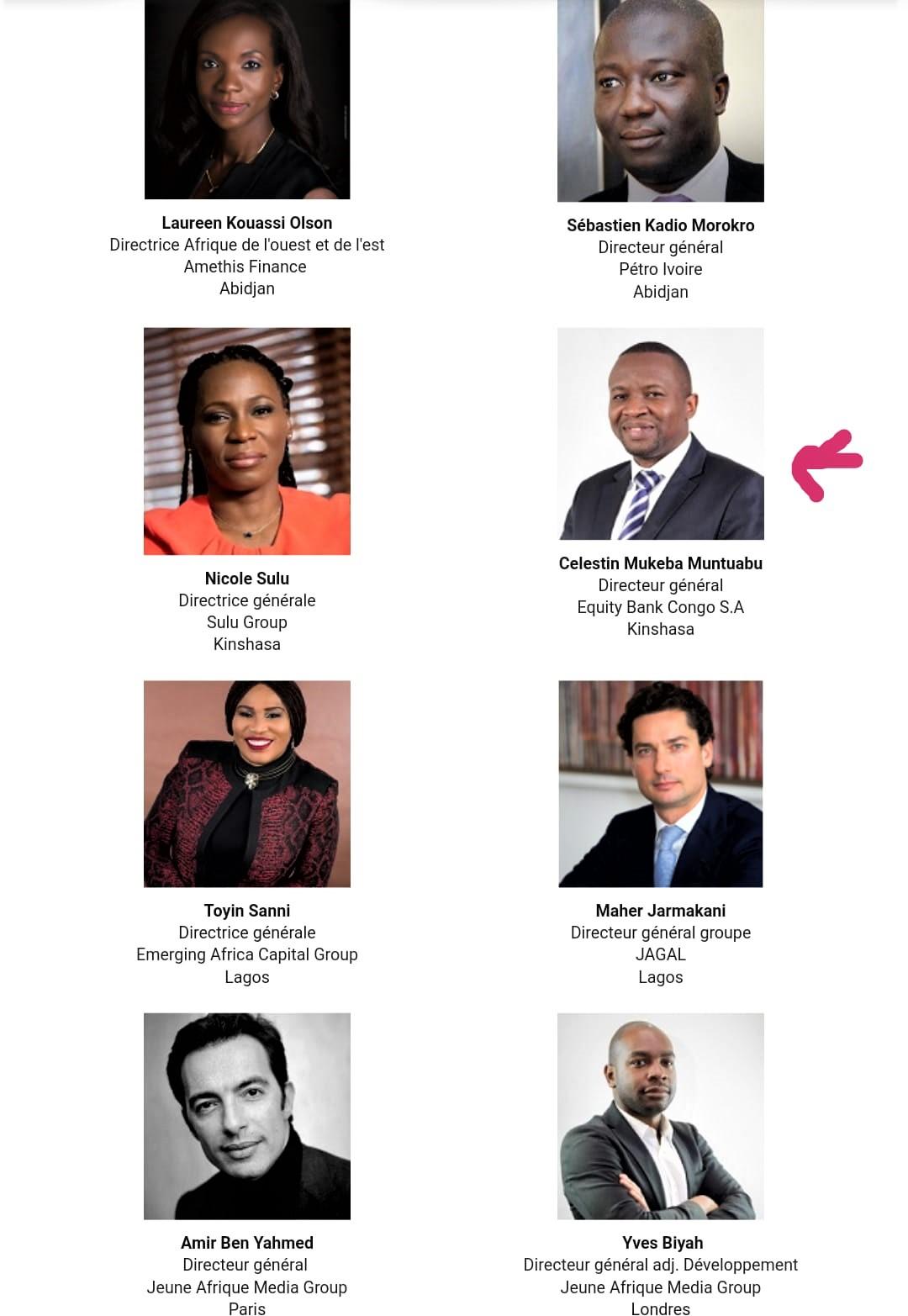 Monde : Célestin Mukeba, l'un des 11 ambassadeurs de l'Africa CEO Network ! 2