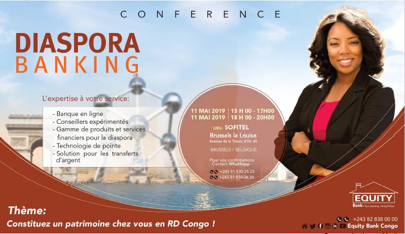 RDC: Equity Bank promeut son offre «Diaspora Banking» à Bruxelles 4