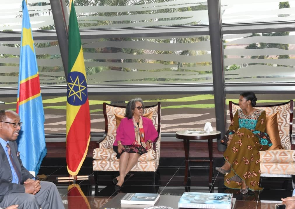 RDC : coopération économique, la présidente d'Éthiopie séjourne à Kinshasa ! 1
