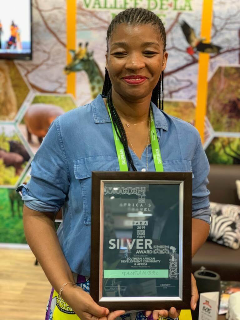 Durban : Tam-Tam Guide RDC reçoit le prix «argent» du South african tourism 2