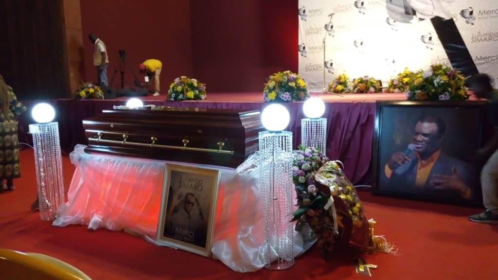 RDC : trois jours d'obsèques en l'honneur de Simaro Lutumba au Palais du Peuple 1